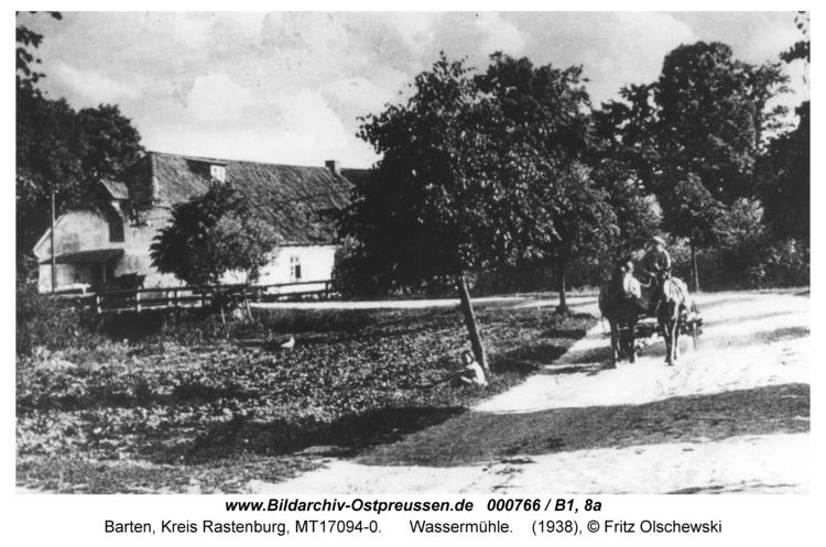 Barten, Wassermühle