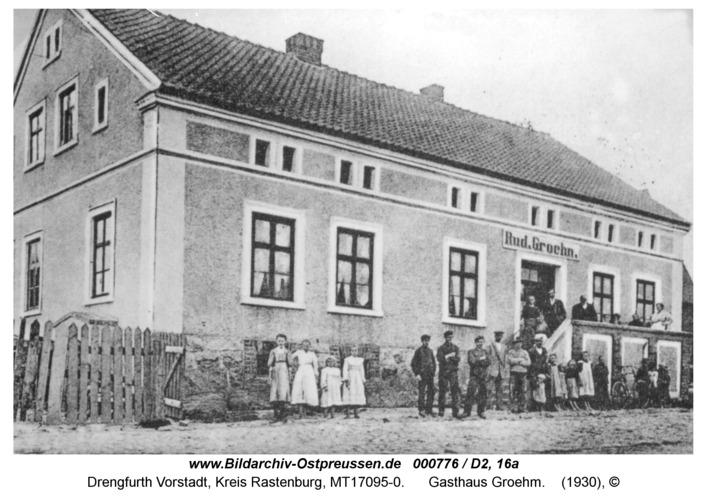 Drengfurt-Vorstadt, Gasthaus Groehm