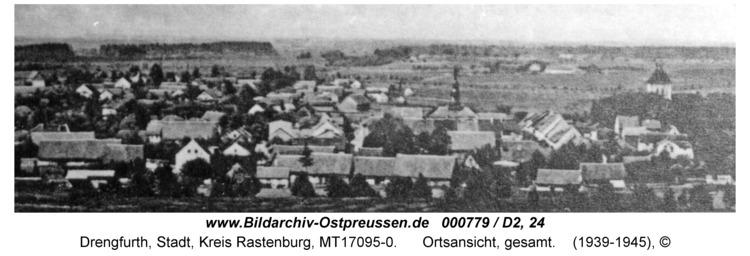 Drengfurt, Ortsansicht, gesamt