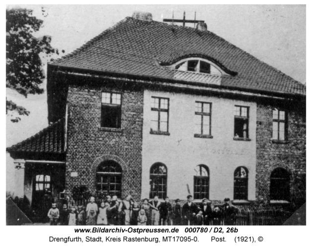 Drengfurt, Bahnhof Straße, Post