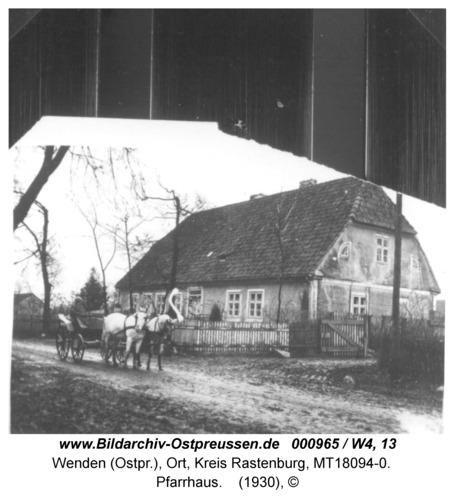 Wenden, Pfarrhaus