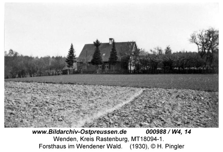 Wenden, Forsthaus im Wendener Wald