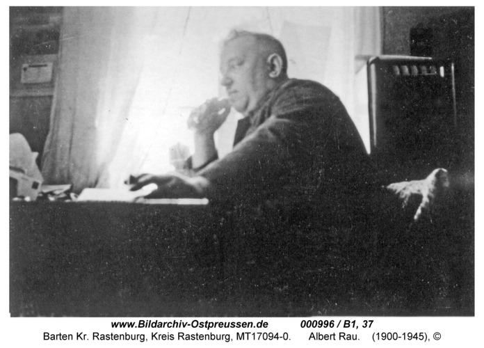 Barten, Maschinenfabrik Rau, Albert Rau
