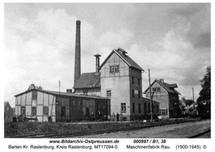 Barten, Maschinenfabrik Rau