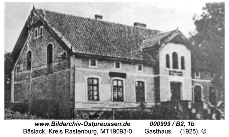 Bäslack, Gasthaus