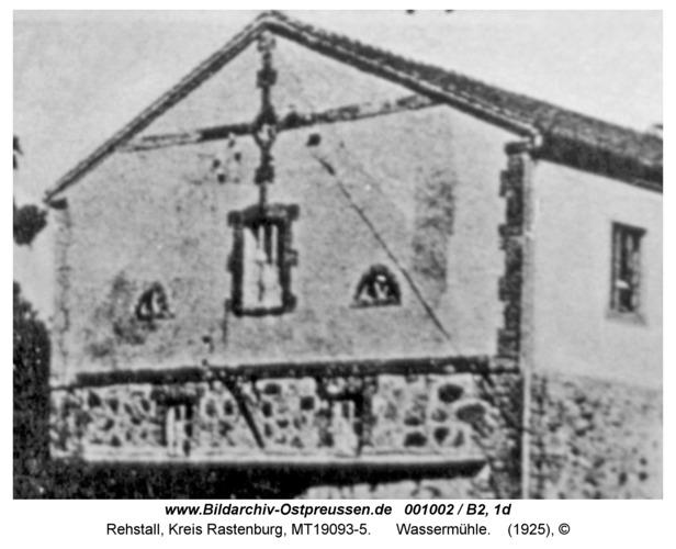 Rehstall, Wassermühle