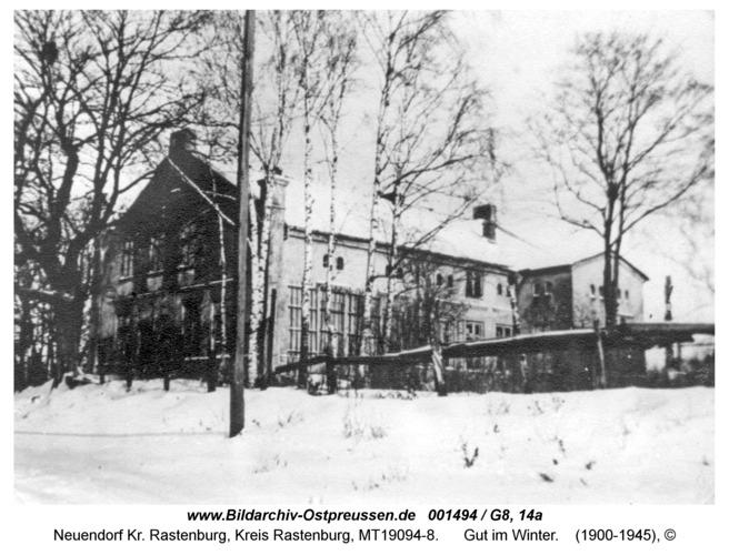 Neuendorf, Gut im Winter