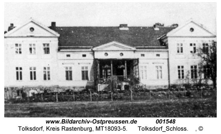 Tolksdorf, Schloß