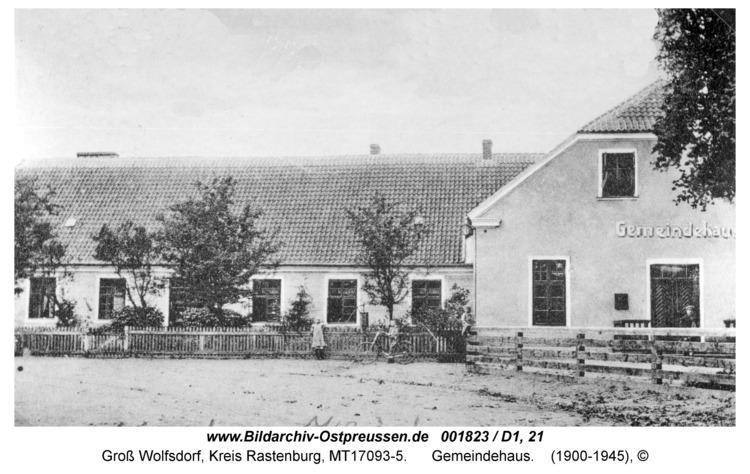 Groß Wolfsdorf, Gemeindehaus
