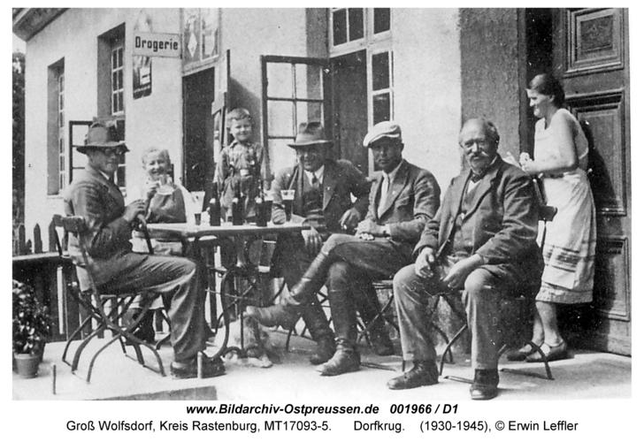 Groß Wolfsdorf, Dorfkrug