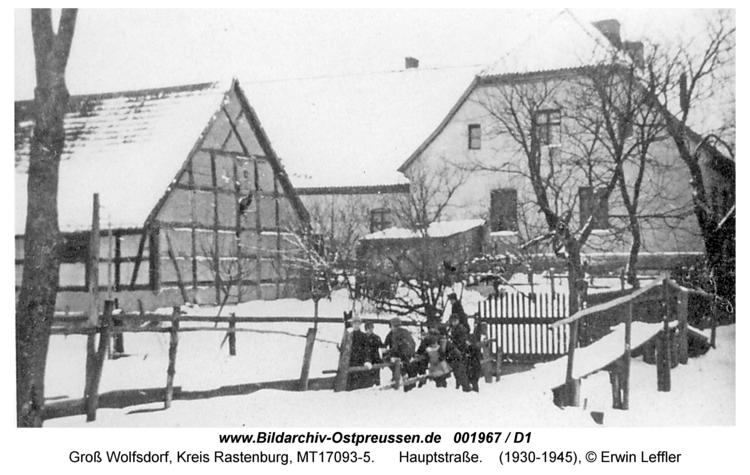 Groß Wolfsdorf, Hauptstraße