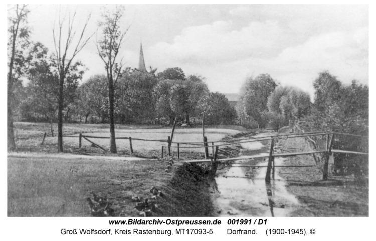 Groß Wolfsdorf, Dorfrand