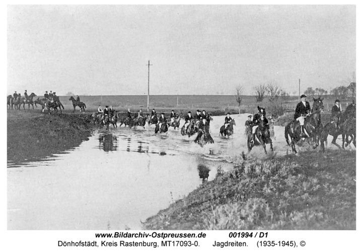 Dönhofstädt, Jagdreiten