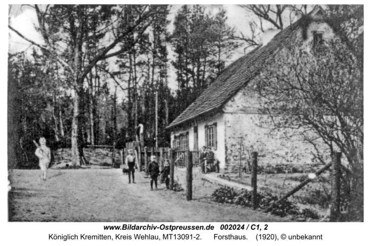Kremitten, Forsthaus
