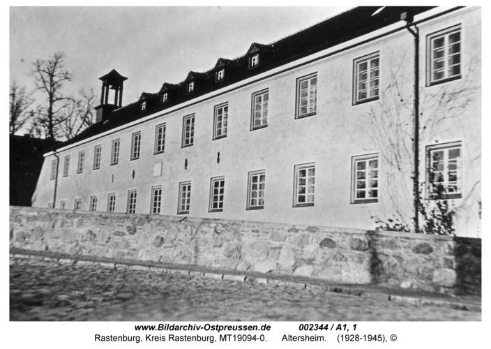 Rastenburg, Georgenthal, Altenheim