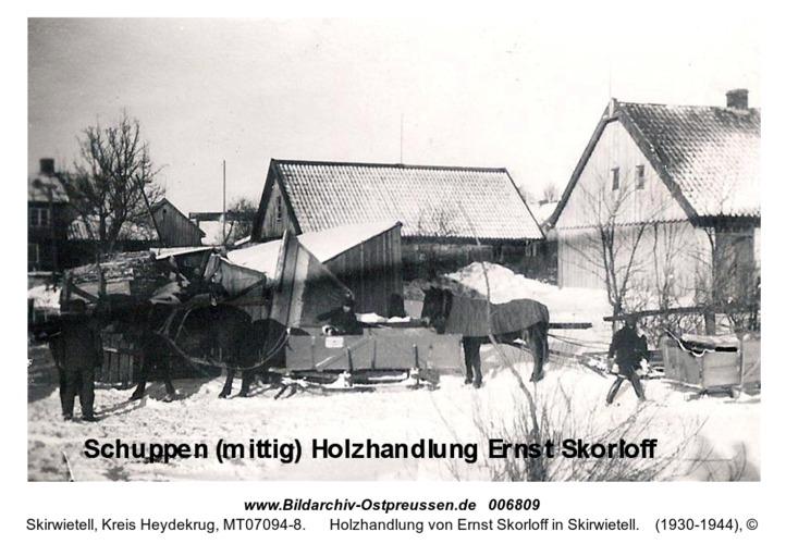 Holzhandlung von Ernst Skorloff in Skirwietell