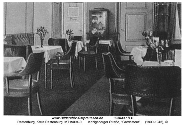 "Rastenburg, Königsberger Straße 22, ""Gardestern"""