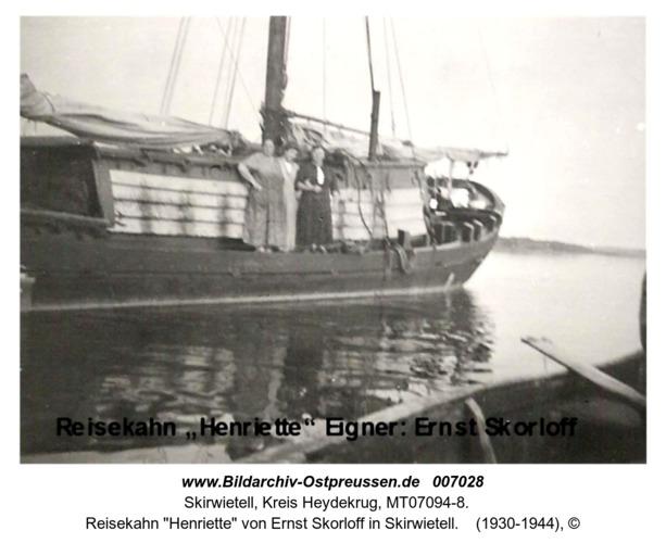 """Reisekahn """"Henriette"""" von Ernst Skorloff in Skirwietell"""
