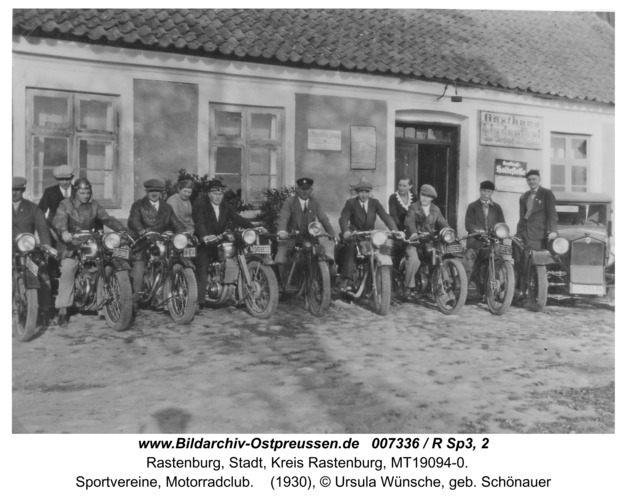 Rastenburg, Sportvereine, Motorradclub
