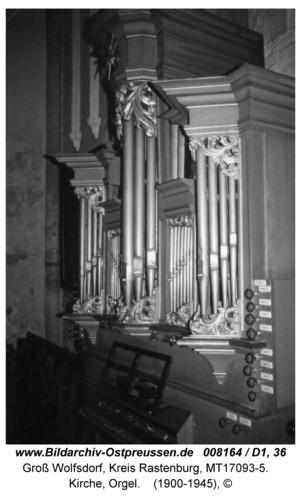 Groß Wolfsdorf, Kirche, Orgel