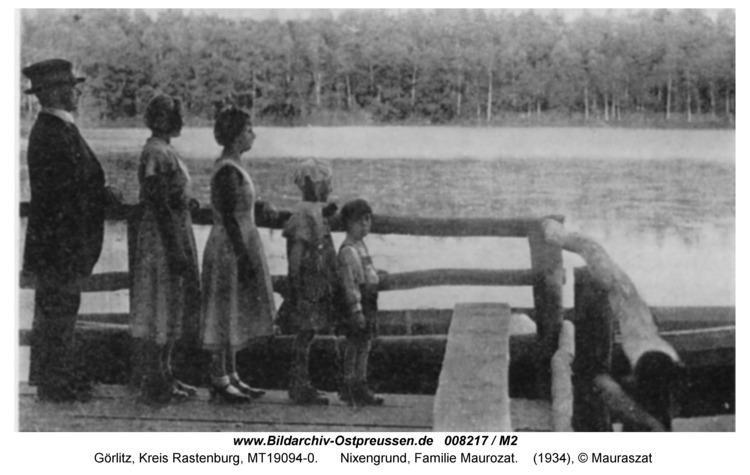Görlitz, Nixengrund, Familie Mauroszat