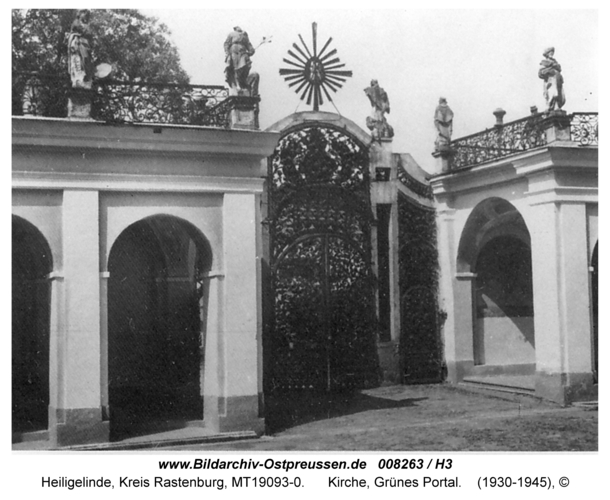 Heiligelinde, Kirche, Grünes Portal