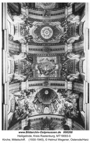 Heiligelinde, Kirche, Mittelschiff