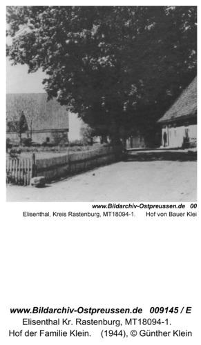 Elisenthal, Schülerkarte der Kleinbahn von Günther Klein