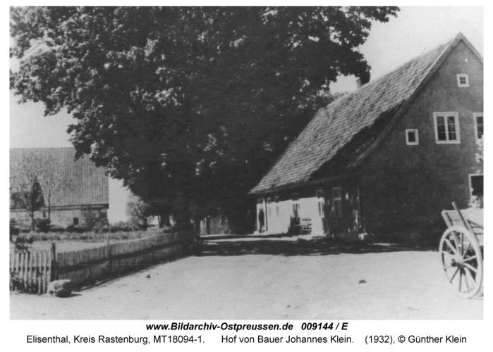 Elisenthal, Hof von Bauer Johannes Klein