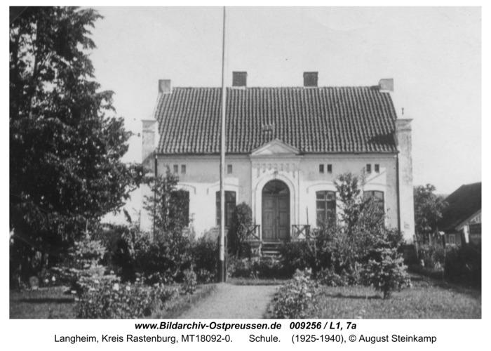 Langheim, Schule