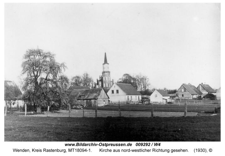 Wenden, Kirche aus nord-westlicher Richtung gesehen