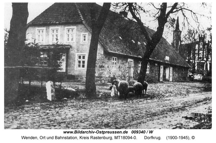 """Wenden, """"Gräflich Schwerinsche Dorfkrug"""""""