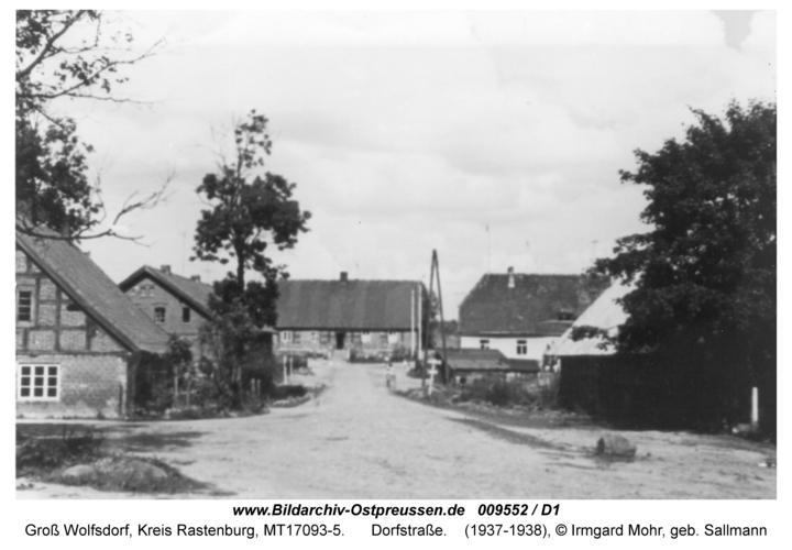 Groß-Wolfsdorf, Dorfstraße