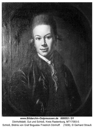 Dönhofstädt, Schloß, Ausstattung, Bildnis von Graf Bogislav, Friedrich Dönhoff