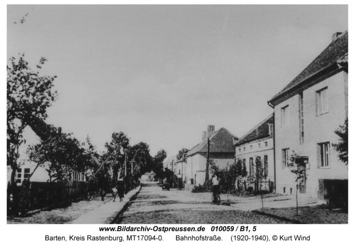 Barten, Bahnhofstraße