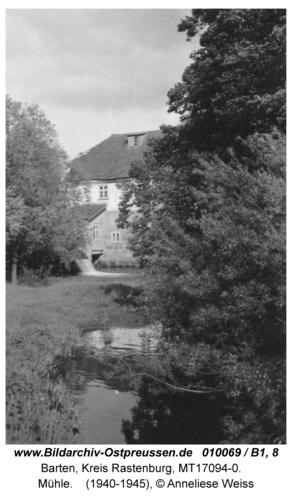 Barten, Mühle