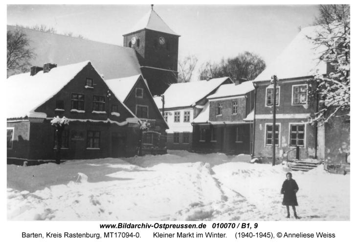 Barten, Kleiner Markt im Winter