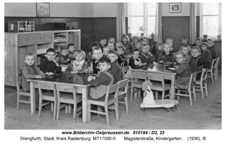 Drengfurt, Magisterstraße, Kindergarten