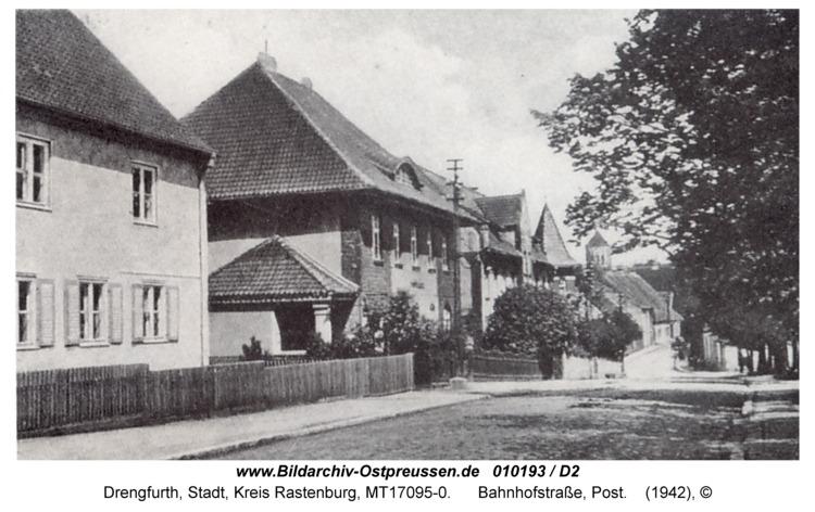 Drengfurt, Rastenburger Straße, Post