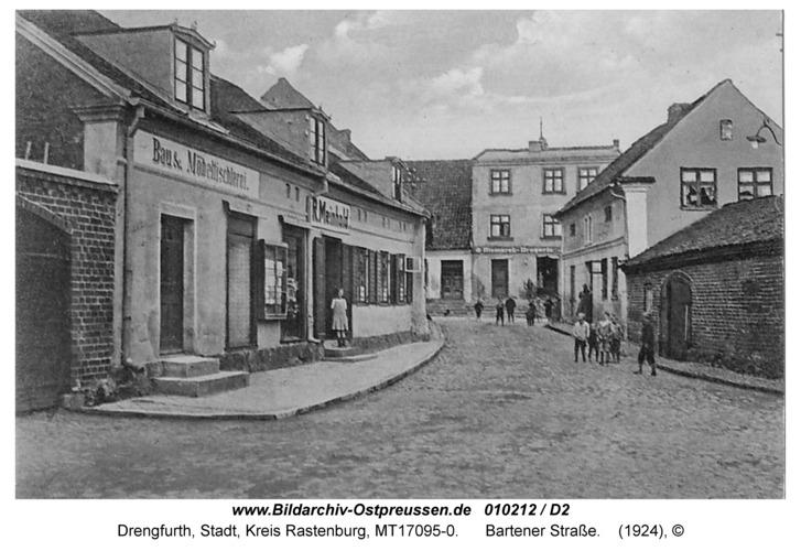 Drengfurt, Bartener Straße
