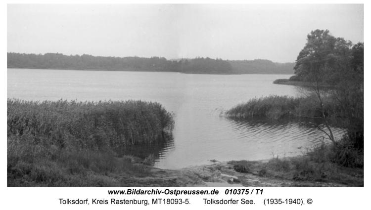 Tolksdorf, Tolksdorfer See