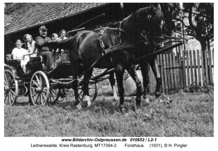 Leitnerswalde, Forsthaus
