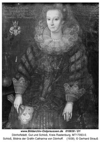 Dönhofstädt, Schloß, Bildnis der Gräfin Catharina von Dönhoff