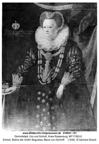 Dönhofstädt, Schloß, Bildnis der Gräfin Bogislaw Maria von Dönhoff