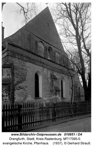 Drengfurt, evangelische Kirche, Pfarrhaus