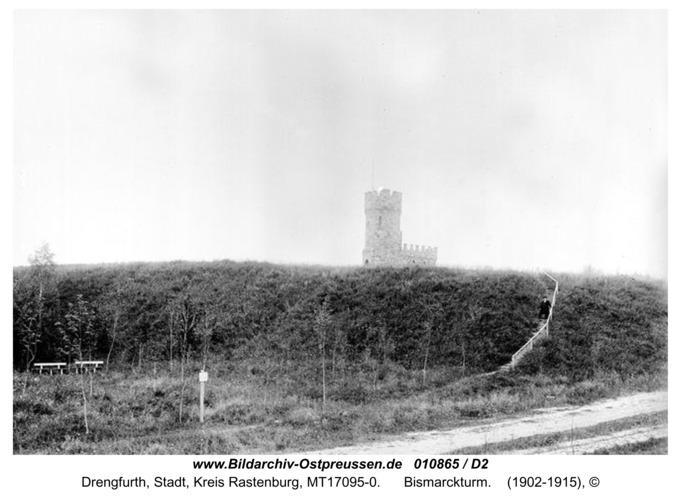 Drengfurt, Bismarckturm