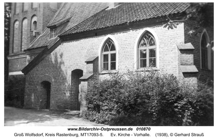 Groß Wolfsdorf, Ev. Kirche - Vorhalle