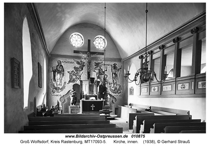 Groß Wolfsdorf, Kirche, innen