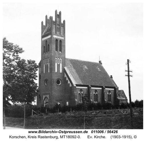 Korschen, Ev. Kirche