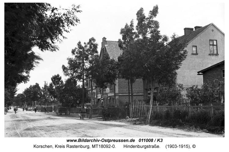 Korschen, Hindenburgstraße